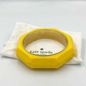 Kate Spade Yellow Bangle Bracelet *Brand New